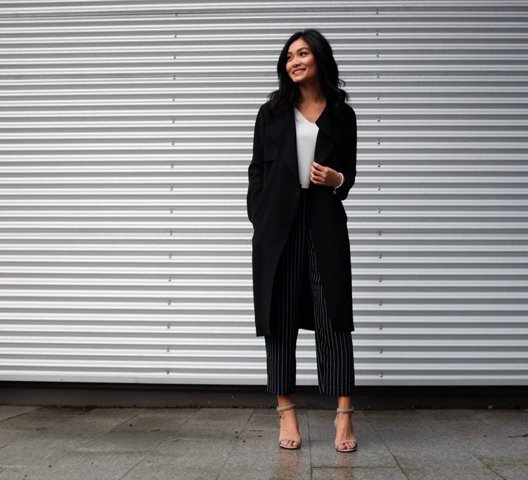 Non-Boring Way To Wear Pinstripe