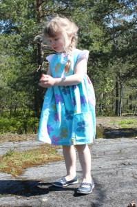 Blue Sally dress