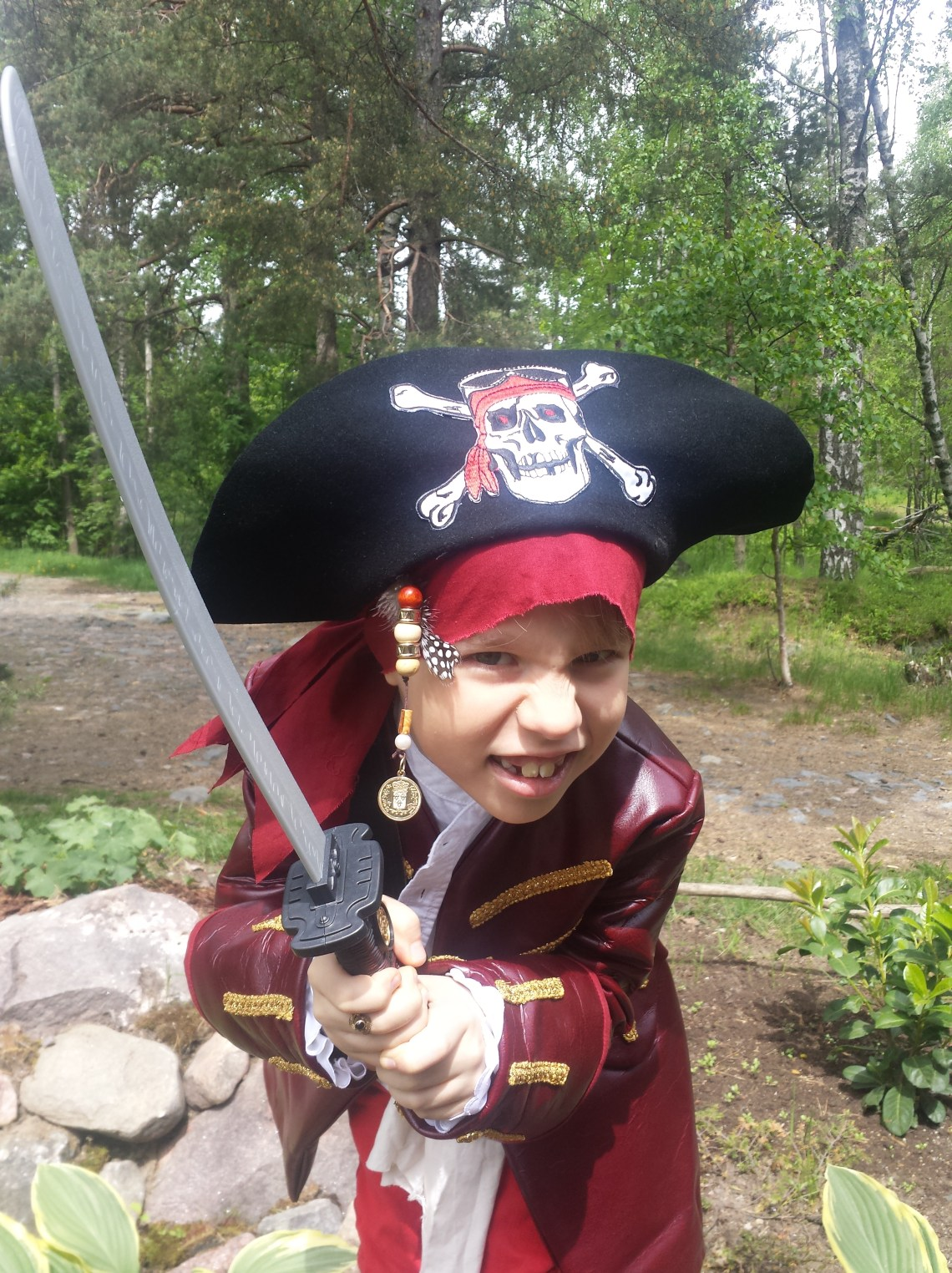 Burda 2452 pirate costume.