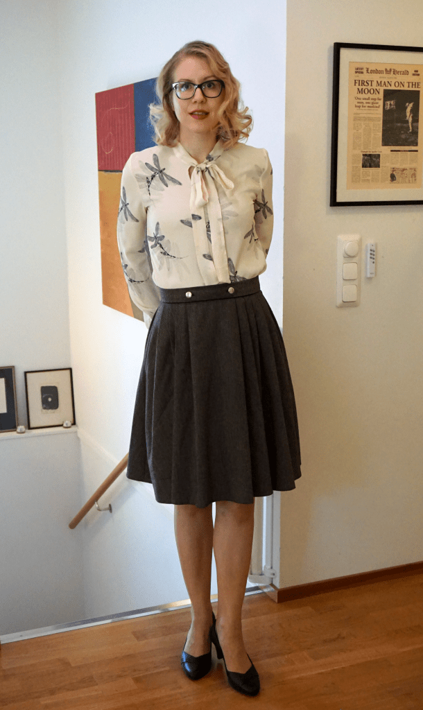 Colette Zinnia and Sew Over It Pussy Bow Blouse.