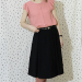 Black Lydia skirt from the book Boundless style.