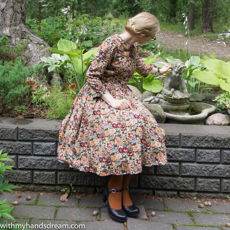 Image: My floral autumn dress