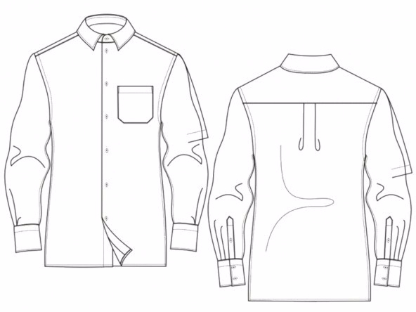 Bootstrapfashion Vado Designs Classic Fit Men's Shirt.