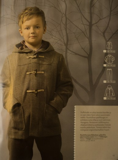 Ottobre design magazine 06-2012 40. Klassikko pattern picture.