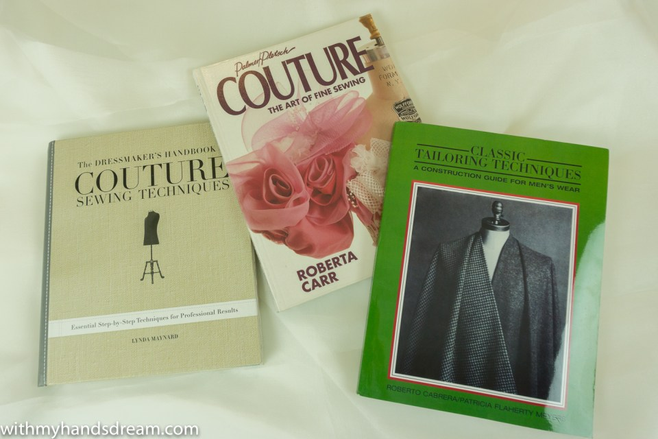 My books about couture and tailoring.