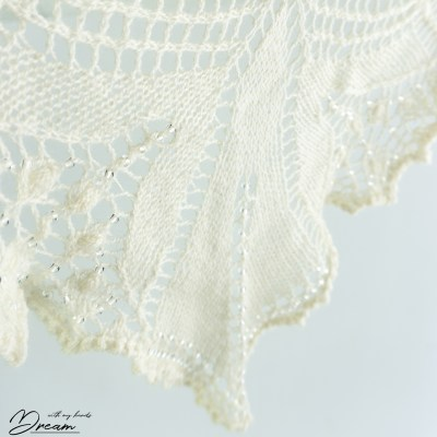 My gorgeous Aeolian shawl.