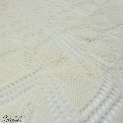My Aeolian shawl, detail.