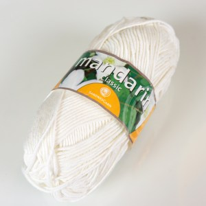 Sandnes Garn Mandarin Classic cotton.