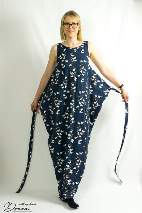 The Named Kielo dress unwrapped.