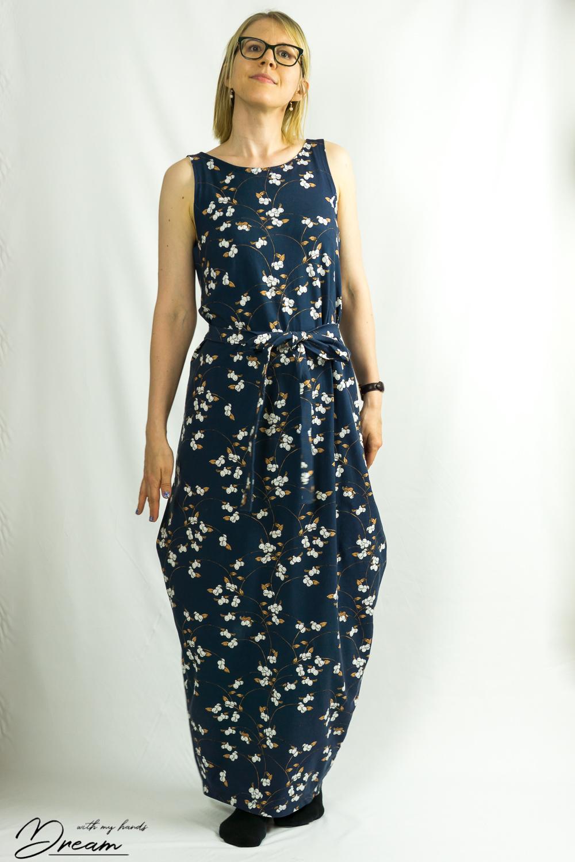 Named clothing Kielo wrap dress.