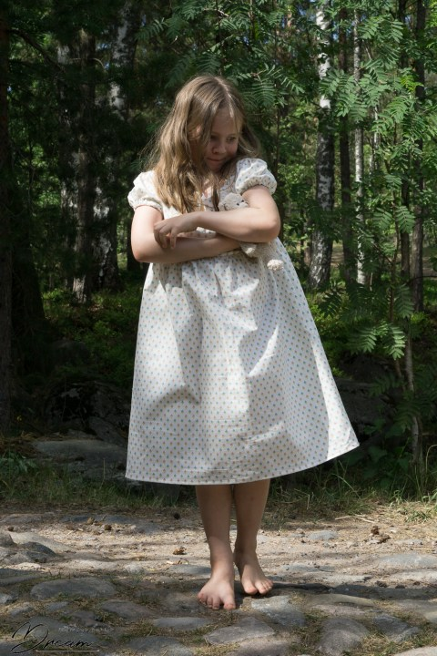 Junebug dress as a nightie for my daughter.