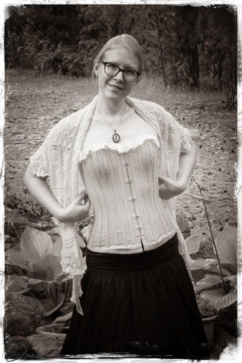 Me in my Zara corset.