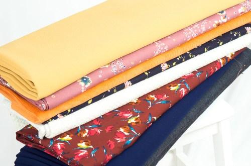 Autumn fabrics.