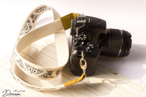 My DIY camera strap.
