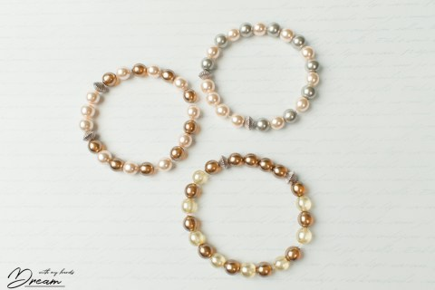 Three bracelets.