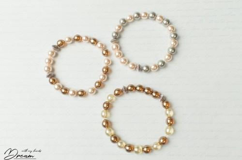 Three bracelets
