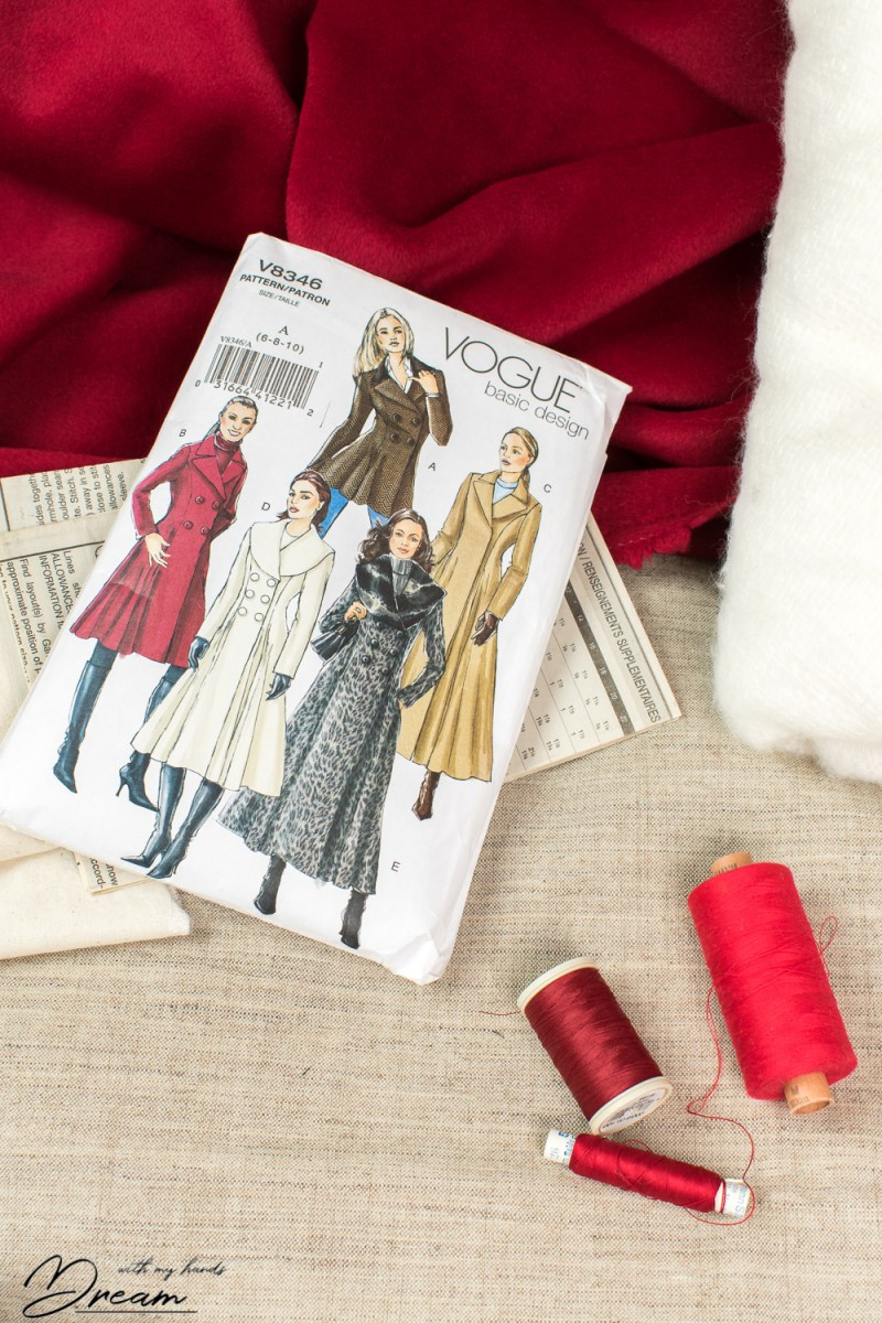 A wool coat for winter, part 1: Planning