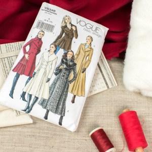 Wool coat plans.