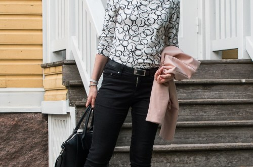 Sew Over It Edie top and jeans.