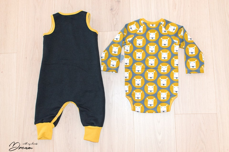 Ottobre design 1/2016 1. Multistripe body and the 4. Koala jumpsuit.