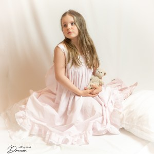 Pink Hannah's nightgown by Olabelhe.