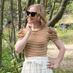 Tilly and the Buttons Agnes top.