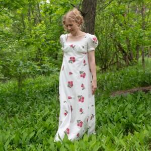 Me empire dress by Sense & Sensibility patterns.