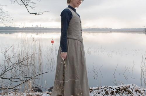 Edwardian waistcoat.