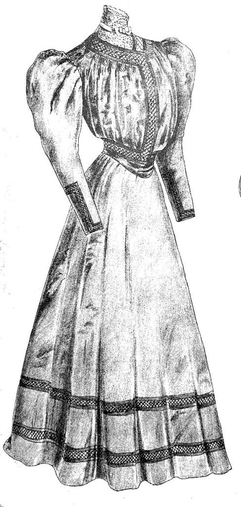 1905 gown from Käsitöitä.