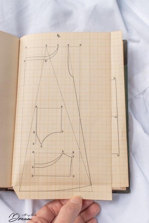 C. H. Lydecken's book called Tyttöjen käsitöiden johtamisen ohjeita kansakouluja varten: paita.