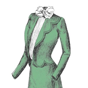 1901 jacket drawing