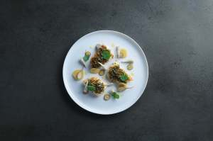 Marcus Wareing food photography