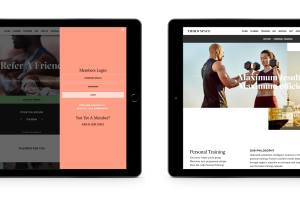 Third Space mobile website design