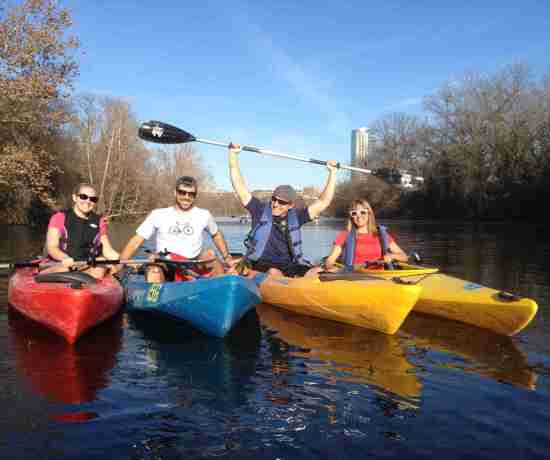 Getting Outside In Austin? Kayak Lady Bird Lake