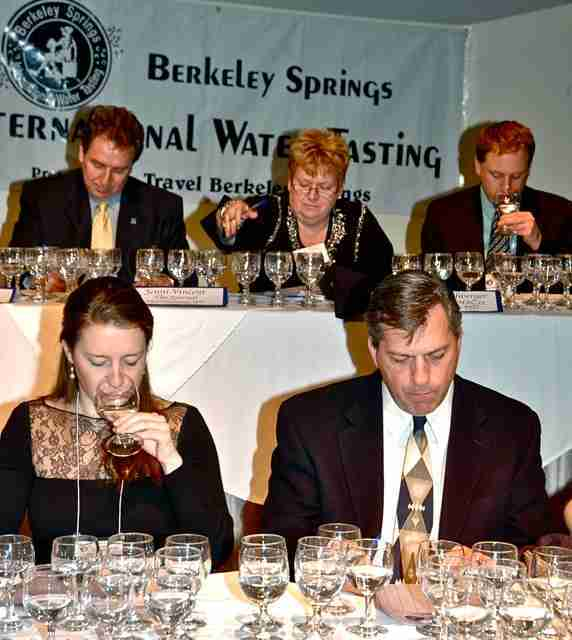 International Water Tasting - JoeBaur