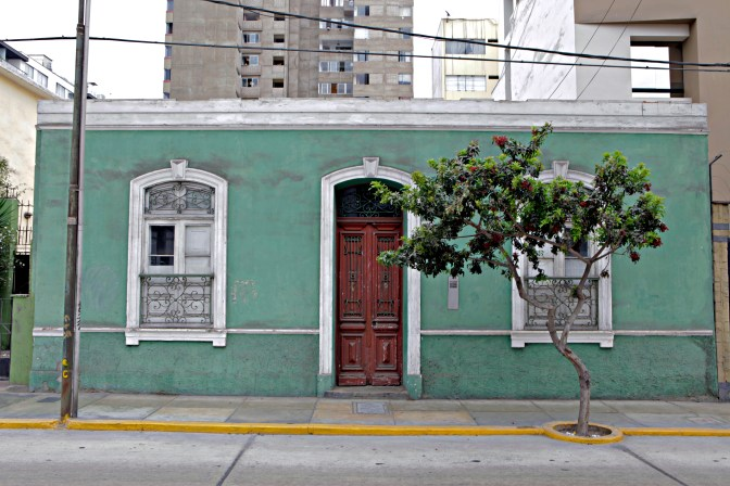 The streets of Miraflores.