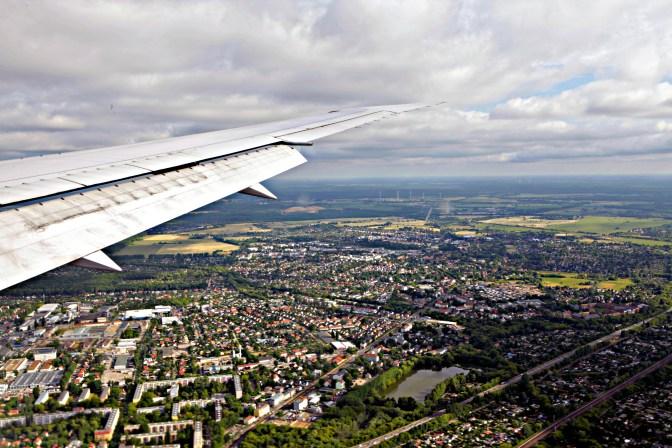 Landing in Germany