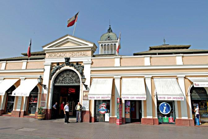 Mercado Central de Santiago, Chile