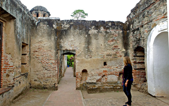 Some of the many ruins in Antigua, Guatemala