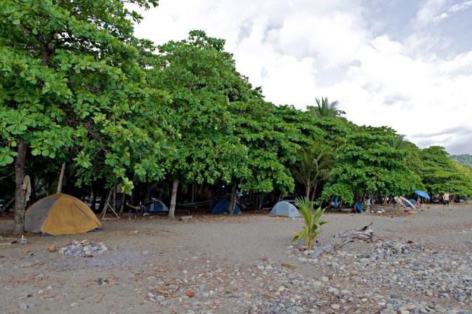 Dominical Costa Rica Beach Camping