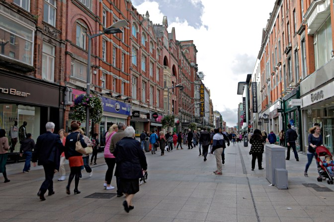 Walking Dublin Ireland - JoeBaur