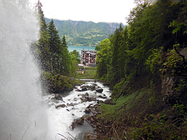 Giessbach Waterfall Switzerland