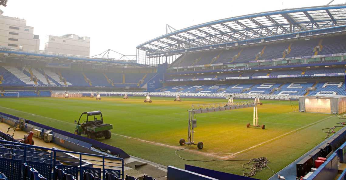 Chelsea FC's Stamford Bridge Stadium in London