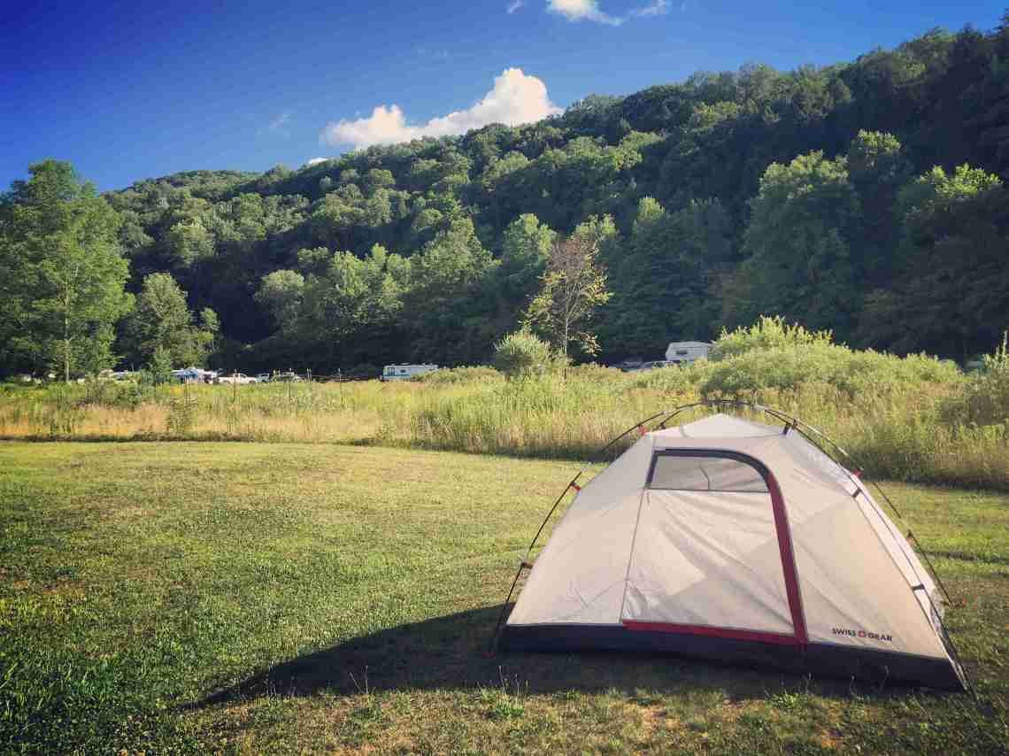 Camping at Willow Bay Campgrounds in Pennsylvania