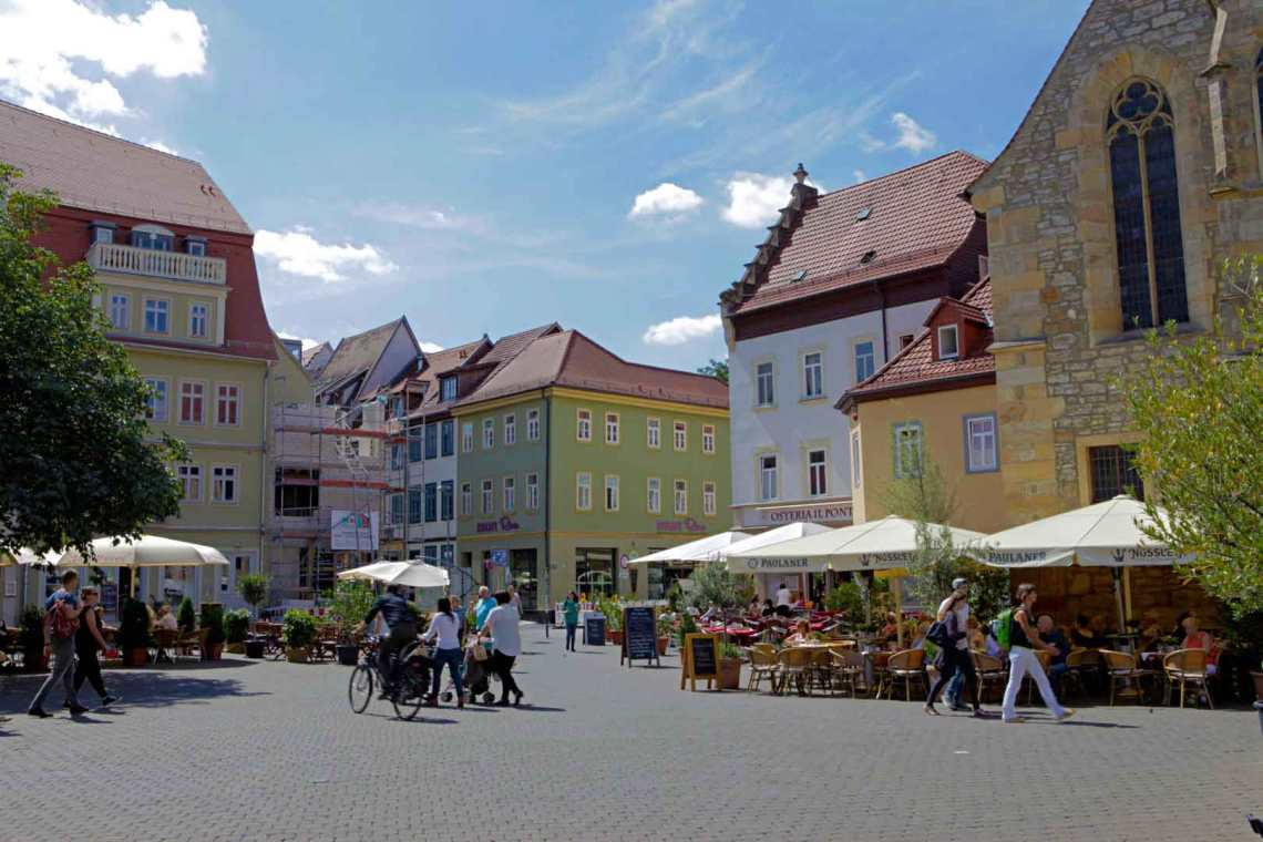 Central Erfurt, Germany