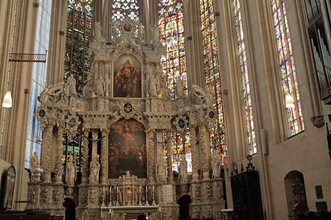 Inside the Erfurter Dom