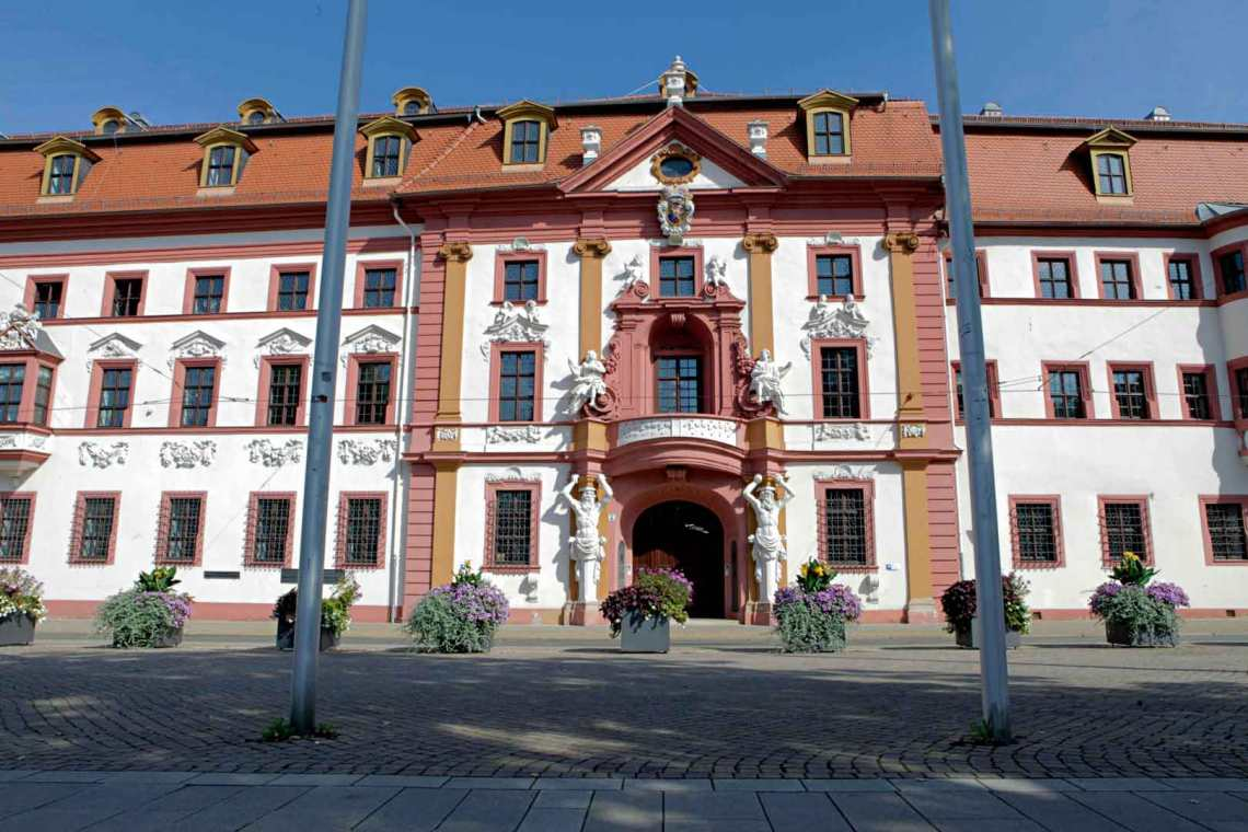 Napoleon's Headquarters in Erfurt, Germany