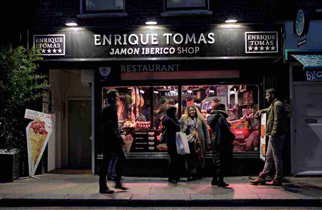 Enrique Tomas Jamón Iberico Restaurant Soho London