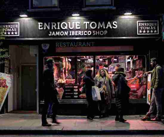 Enrique Tomas Jamon Iberico London Restaurants