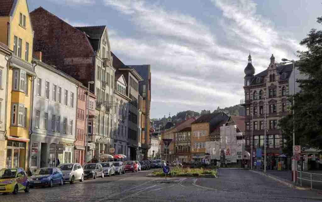 Eisenach Germany Streetview
